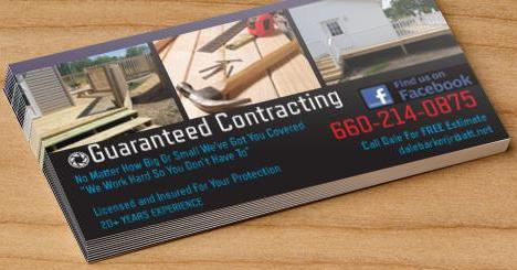 Guaranteed Contracting